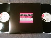 RAH DIGGA - DIRTY HARRIET 'PROMO' 2X LP / U.S ELEKTRA BUSTA RHYMES FLIPMODE