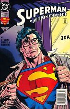 SUPERMAN 692 IN ACTION COMICS,#32 OCT OCTOBER 1993,MINT CONDITION,STERN GUICE