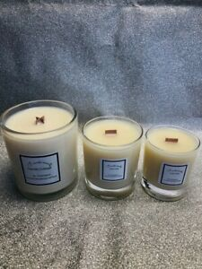 handmade, highly scented Tall, 50cl Malone fragranced soy Wax candle-18 choices