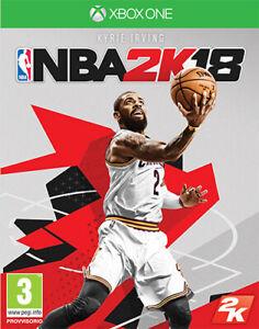 NBA 2K18 (Basket-Ball 2018) Xbox One Take Two Interactive