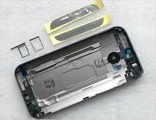 Battery Back Cover Door Housing With Sim Rray SD Tray Top& Buttom For HTC One M8
