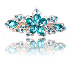 Hübsche Kleine Schleifen Haarspange Gelb Kräftiges Türkis Silber Farben Zier Neu Fashion Jewelry Jewelry & Watches
