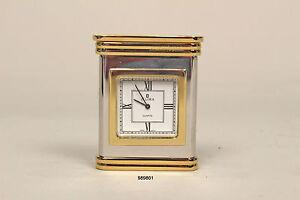Ellora Quarz Tisch- und Reiseuhr, 5,0 x 6,5 cm, in Geschenkschatulle  (989801)