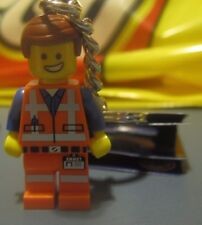 NEW The LEGO Movie EMMET KEYCHAIN 850894 Construction Minifigure Party Favors
