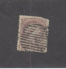 CANADA (MK732)  # 29b  VG-USED  15cts  1868-76 QUEEN VICTORIA /RED LILAC  CV $50