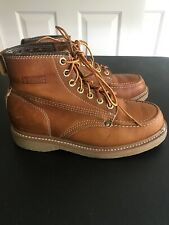 Lehigh Work Boots ANSI Z41 Men's Leather Size 6.5 EEE Triple Wide Steel Toe 5011