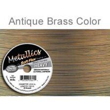 Brass Colour Soft Flex Wire .024 Length 30 ft, 49 Strands, 0.60mm - FT453Brass