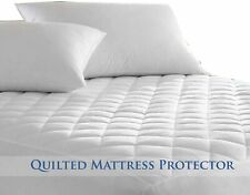 Luxury Quilted Mattress Protector Extra Deep Breathable & Fully Fitted Double