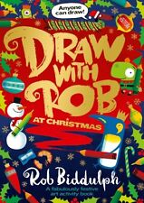 Draw With Rob At Christmas by Rob Biddulph (NEW)