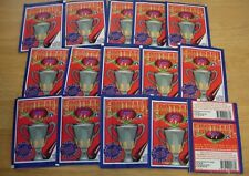 15 Packs Select 1997 Australian Football Cards~1 Stand up & 6 Stickers per pack