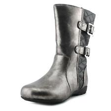 Kenneth Cole Girls Pewter Boots Dress Boots Little Girls Size 7