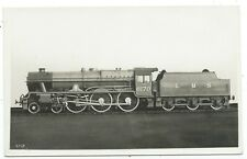 LONDON, MIDLAND & SCOTTISH RAILWAY - LMS Steam Loco no. 6170 Real Photo Postcard
