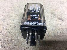 Relé de línea eléctrica MKH2A 8-PIN 120 V