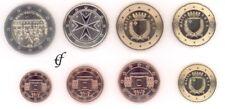 Malta todos 8 monedas 2012 con 2 euro conmemorativa derecho de voto