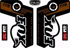 FOX TALAS Forks / Suspension Factory Style Decal Kit Sticker Adhesive Set Gold