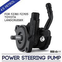 Power Steering Pump FZJ80 FZJ105 For Toyota Landcruiser 80 105 Series 4.5 Petrol