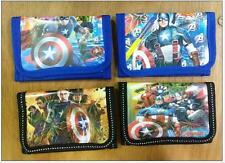 Marvel Avengers Wallet Zip Coin Note Organiser Waterproof New