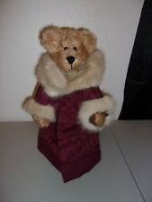 """""""Kris Kringle"""" A. Willsmith Mohair Bear from 1998 Excellent Pre-Owned Ooak!"""