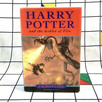 Harry Potter The Goblet of Fire J.K.Rowling Hardback Bloomsbury 1st/1st Edition
