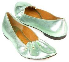 New SAM EDELMAN Women Leather Flat Slip On Casual Comfort Slipper Shoe Sz 6 M