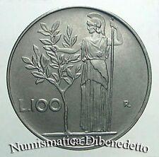 Repubblica - 100 Lire dal 1955 al 2001 da BB a FDC da serie Zecca o Rotolino