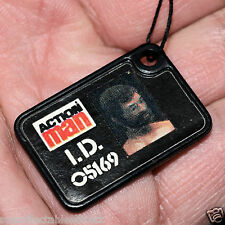 ☆ VAM Palitoy Action Man ☆ 2nd Issue I.D Dog Tag ☆ c1983-84 ☆ VGC ☆