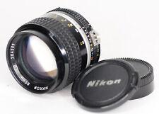 Nikon Ais 85mm f/2 Lens For Nikon F Ais Mount (3146BL)