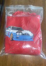 Travis Scott JACKBOYS VEHICLE HOODIE II Red Sweatshirt SMALL