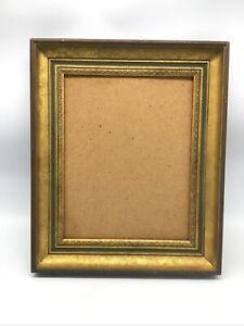 Ornate Vintage Old Picture Frame Gold Decorative.