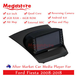 """9"""" Quad Core Android 10.1 Car non dvd Media Player GPS For Ford Fiesta 2008-2018"""
