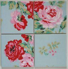 Handmade Floral Coasters