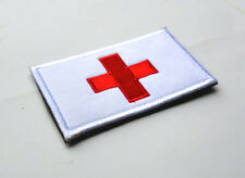 SWITZERLAND FLAG SWISS FLAG 3D ARMY TACTICAL PATCHES MORALE BADGE HOOK PATCH ^02