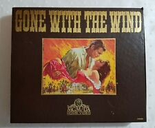 GONE WITH THE WIND VHS Collector's Box Set MV900284 w/ Slide Out Case GREAT COND