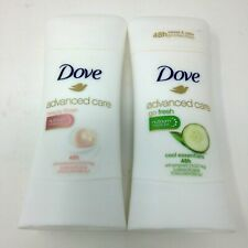 Dove Advanced Care Cool Essentials & Beauty Finish Antiperspirant MIXED Lot of 2