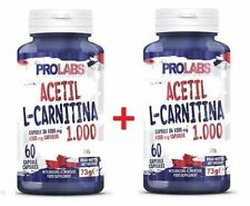 PROLABS - 2 x ACETIL L-CARNITINA 1000 MG , 60 compresse - ALC