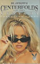 Playboy's Centerfolds of the Century Trading Cards Sealed Box 24 Packs Autograph