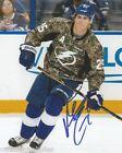 Tampa Bay Lightning Matt Carle Signed Autographed 8x10 Photo COA A