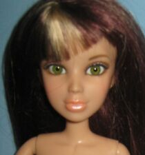 Liv Doll by Spin Master 2009 Green eyes -Auburn Wig-Nude for OOAK