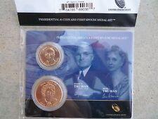 2015 Harry S. Truman Presidential $1 Dollar First Spouse Medal Set OGP Original