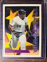Frank Thomas Baseball Card #229 Topps Star Power Chicago White Sox SSP MLB HOF