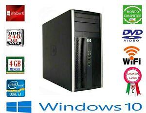 COMPUTER HP 6200 PRO CP INTEL CORE  i 3  2100 4 GB RAM WIFI_ WINDOWS 10 PRO