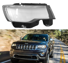 Jeep Grand Cherokee 2014- 2019 HEADLIGHT GLASS LENS SET PAIR RIGHT + LEFT
