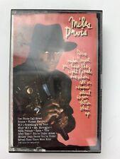 Miles Davis You're Under Arrest (Cassette)