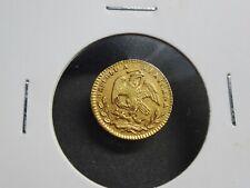 Mexico, 1/2 Escudo Gold 1862 Mo CH