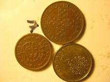 PORTUGAL DIFFERENT  COINS