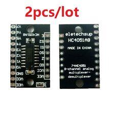5 x C-mos 4555 desmultiplexor 2-bit 2 veces dip16