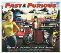 FAST & FURIOUS 40 CRAZY CATS & CRUISING SONGS Inc BO DIDDLEY, CHUCK BERRY & MORE