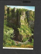 Vintage John Hinde postcard Horseshoe Cheddar Gorge Somerset  unposted