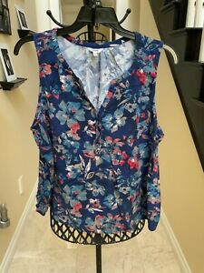 womens clothing XXL Sonoma top, floral design