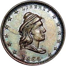 1864 Liberty Our Army Patriotic Civil War Token